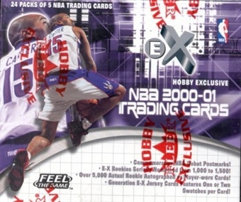 2000/01 Fleer Skybox E-X Basketball Hobby Box