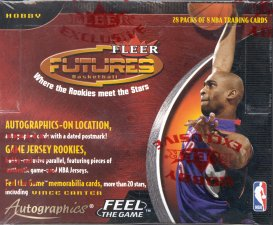 2000/01 Fleer Futures Basketball Hobby Box