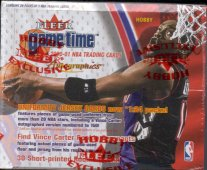2000/01 Fleer Game Time Basketball Hobby Box