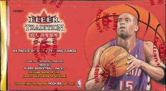 2000/01 Fleer Tradition Glossy Basketball Hobby Box