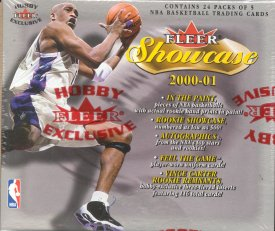 2000/01 Fleer Showcase Basketball Hobby Box
