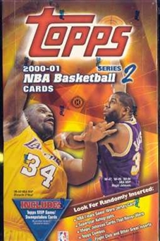 2000/01 Topps Series 2 Basketball Hobby Box