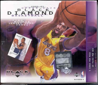 2000/01 Upper Deck Black Diamond Basketball Hobby Box