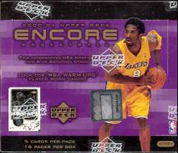 2000/01 Upper Deck Encore Basketball Hobby Box