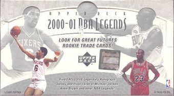 2000/01 Upper Deck Legends Basketball Hobby Box