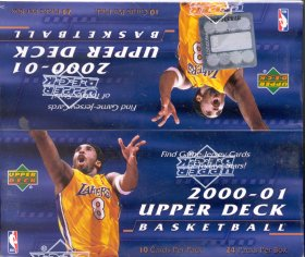 2000/01 Upper Deck Series 1 Basketball 24 Pack Box
