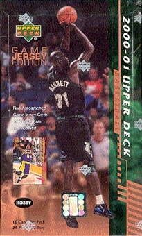 2000/01 Upper Deck Series 2 Basketball Hobby Box