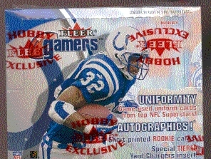 2000 Fleer Gamers Football Hobby Box