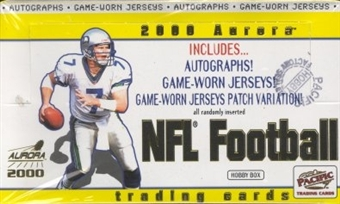 2000 Pacific Aurora Football Hobby Box