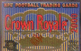 2000 Pacific Crown Royale Football Hobby Box