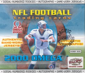 2000 Pacific Omega Football Hobby Box
