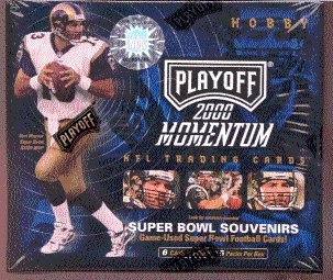 2000 Playoff Momentum Football Hobby Box