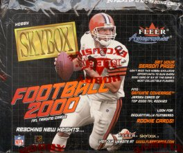 2000 Skybox Football Hobby Box