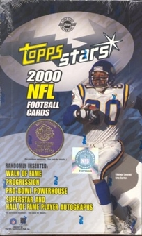 2000 Topps Stars Football Hobby Box