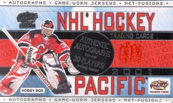 2000/01 Pacific Hockey Hobby Box
