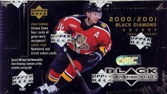 2000/01 Upper Deck Black Diamond Hockey Hobby Box