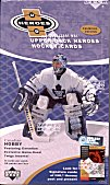 2000/01 Upper Deck Heroes Hockey Hobby Box