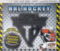 2000/01 Pacific Titanium Hockey Hobby Box