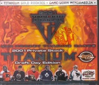 2000/01 Pacific Titanium Draft Day Hockey Hobby Box