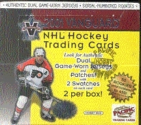 2000/01 Pacific Vanguard Hockey Hobby Box