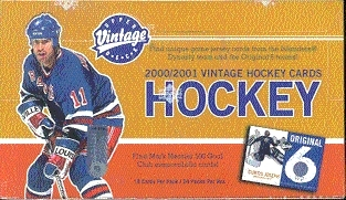 2000/01 Upper Deck Vintage Hockey Hobby Box
