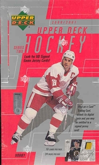 2000/01 Upper Deck Series 2 Hockey Hobby Box