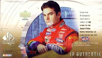 2000 Upper Deck SP Authentic Racing Hobby Box