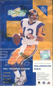 2000 Score Football 36 Pack Box