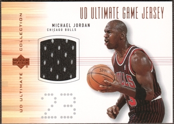 2000/01 Upper Deck Ultimate Collection Game Jerseys Bronze #MJJ Michael Jordan