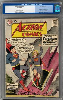 Action Comics #252 CGC 3.0 (C-OW) *0113249002*