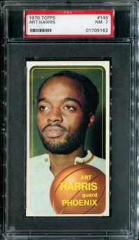 1970/71 Topps Basketball #149 Art Harris PSA 7 (NM) *5162