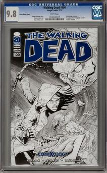 Walking Dead #100 Ottley Sketch Cover CGC 9.8 (W) *0199597017*