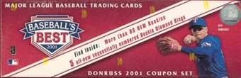 2001 Donruss Baseball's Best Silver Baseball Factory Set (Box)