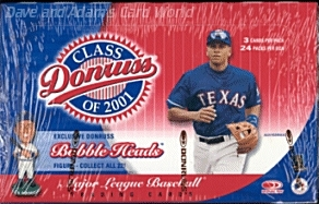 2001 Donruss Class Of 2001 Baseball Hobby Box