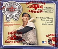 2001 Fleer Greats Of The Game Baseball Hobby Box
