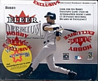 2001 Fleer Premium Baseball Hobby Box