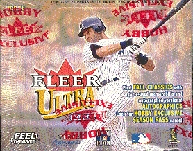 2001 Fleer Ultra Baseball Hobby Box