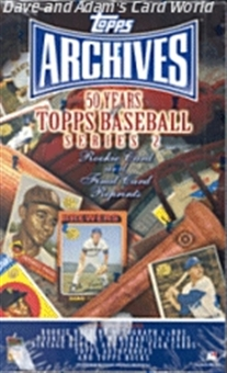 2001 Topps Archives Series 2 Baseball Hobby Box