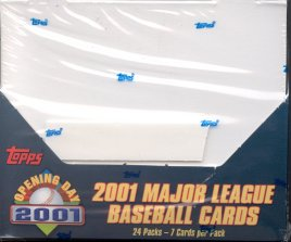 2001 Topps Opening Day Baseball Box
