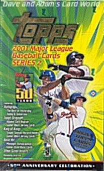 2001 Topps Series 2 Baseball Hobby Box