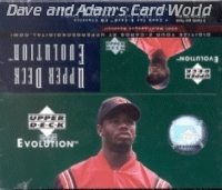 2001 Upper Deck Evolution Baseball 24 Pack Box