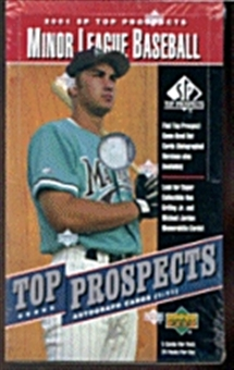 2001 Upper Deck SP Top Prospects Baseball Hobby Box