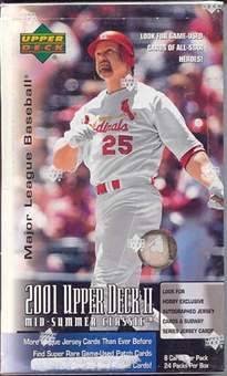 2001 Upper Deck Series 2 Baseball Hobby Box