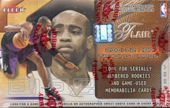 2001/02 Fleer Flair Basketball Hobby Box