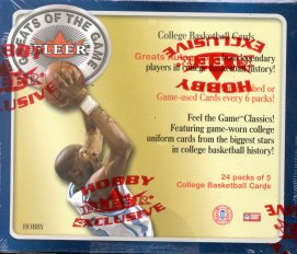 2001/02 Fleer Greats Of The Game Basketball Hobby Box