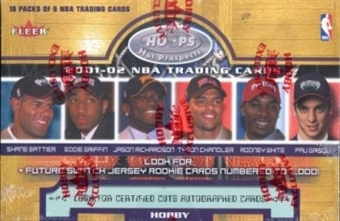 2001/02 Fleer Hoops Hot Prospects Basketball Hobby Box
