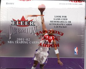 2001/02 Fleer Premium Basketball Hobby Box