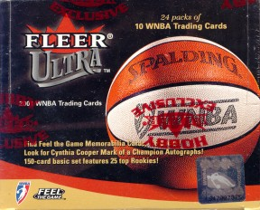 2001 Fleer Ultra WNBA Basketball Hobby Box