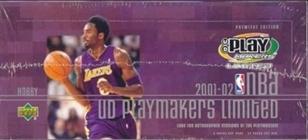 2001/02 Upper Deck Playmakers Basketball Hobby Box