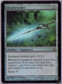 Magic the Gathering Lorwyn Single Deathrender Foil